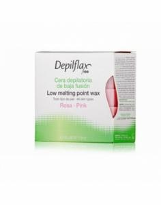 Depilflax  Горячий воск в брикетах Depilflax 100, розовый, 500 гр
