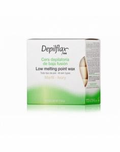 Depilflax  Горячий воск в брикетах Depilflax 100, слоновая кость, 500 гр